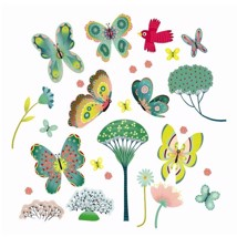 Djeco Stickers 3D Dragonflies Tree