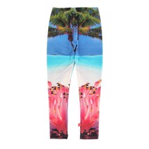 Molo leggings Nikia Flamingo
