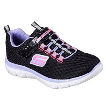 Skechers - Black/Pink/Purple