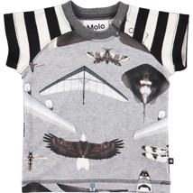 Molo T-Shirt Egon Planes and Birds