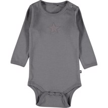 Molo - Langærmet Body Foss Dark grey