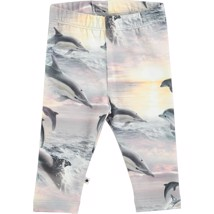 Molo - Leggings - Stefanie - Dolphin Sunset