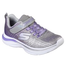Skechers - Silver/Purple