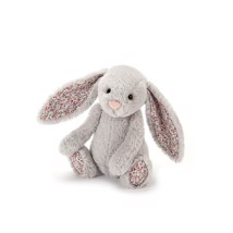 Jellycat - Kanin Silver Blossom - lille 18 cm
