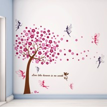COM-Huge Pink Tree WS6038 + Fairies WS5020