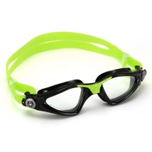 Aqua Sphere KAYENNE JUNIOR black/light green transparent