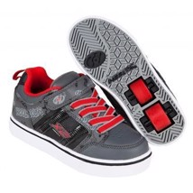 Heelys Rullesko - Black/Grey/Red - 2 hjul