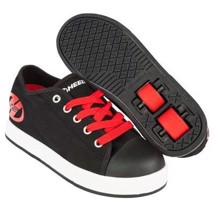 Heelys Rullesko - Black/Red- 1 hjul