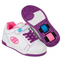 Heelys Rullesko - White/purple/neon - 2 hjul