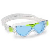 Aqua Sphere VISTA JUNIOR transparent/light green