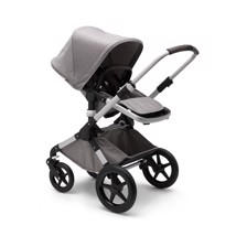Bugaboo FOX Mineral Collection Light Grey Alu Stel