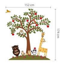 WS12012 - Animal Friends and Apple Tree