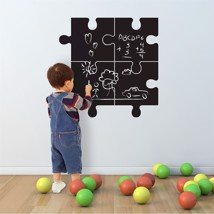 Walplus Chalkboard Puzzle Designed Wall Art Sticker