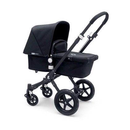 Bugaboo Cameleon3 - Sort stel/Sort base/sort
