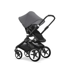 Bugaboo FOX Alu Stel/Sort Top/Sort lift/Sort sæde