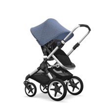 Bugaboo FOX Alu/BM/Sort/sort